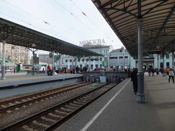 Белорусский вокзал. Май 2011
